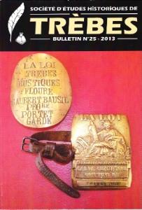 bulletin2013 sociaté d'études historiques