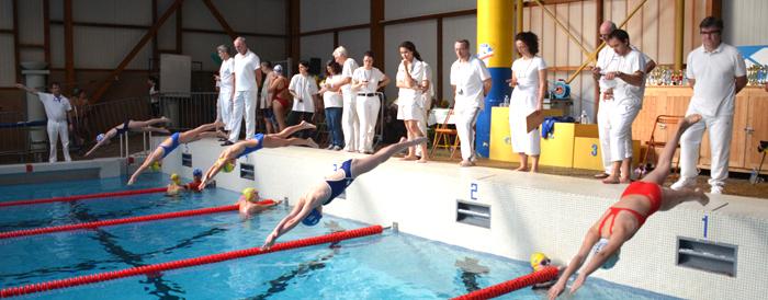160 nageurs pour le 5 me challenge de l aqua club a tr bes for Piscine 5eme