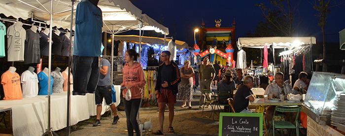 marché -nocturne Trèbes 25 aout2014