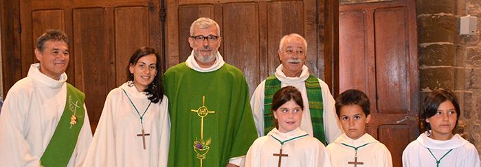 paroisse-Trèbes dernière messe -abbé Gandoulas