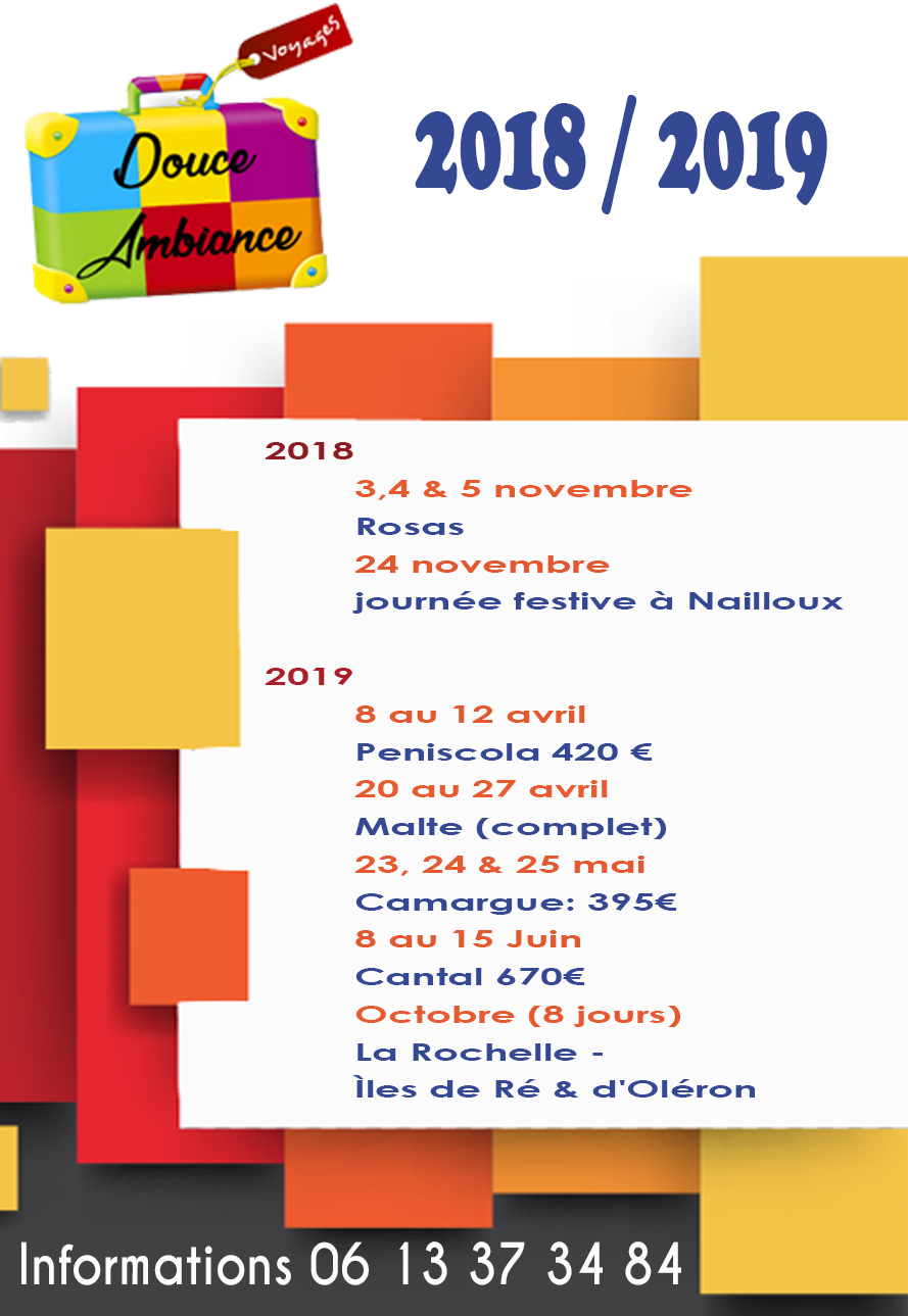 douce ambiance-2018 2019
