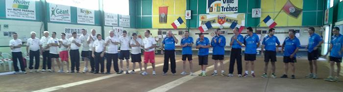 Jeu Lyonnais Trèbes Frontignan sportf 21 septembre 2013