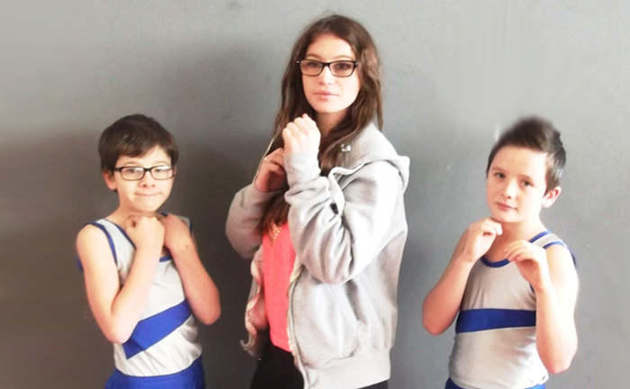 savate dec2014 Tom Tatiana Tristan