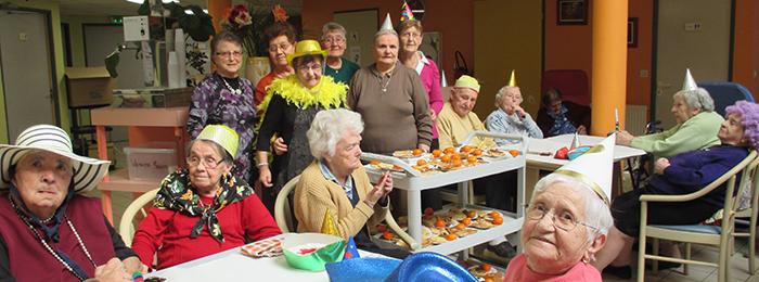 maison de retraite -trèbes entraide carnaval