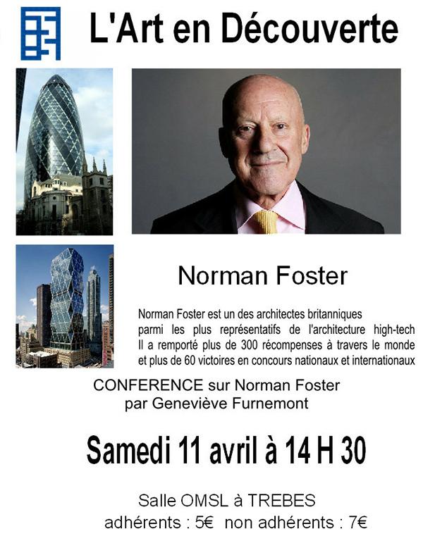 Art en découverte conference Normanfoster avril 2015-b