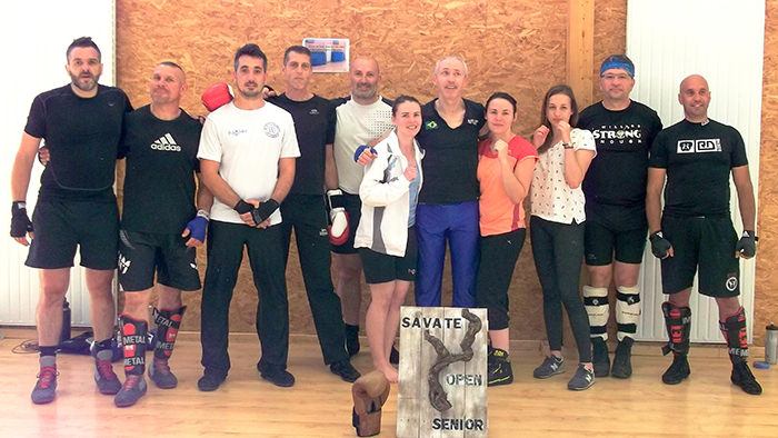 Savate equipe Cathare Club Savate