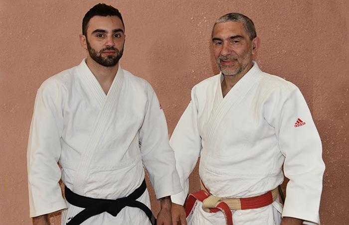 Judo Adrien et Richard Pavia