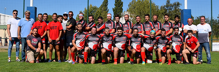 rugby Trèbes  ust 2018
