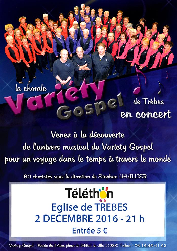 Affiche telethon variety2