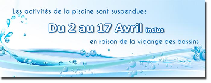 R ouverture de la piscine le mardi 18 avril a tr bes for Piscine trebes