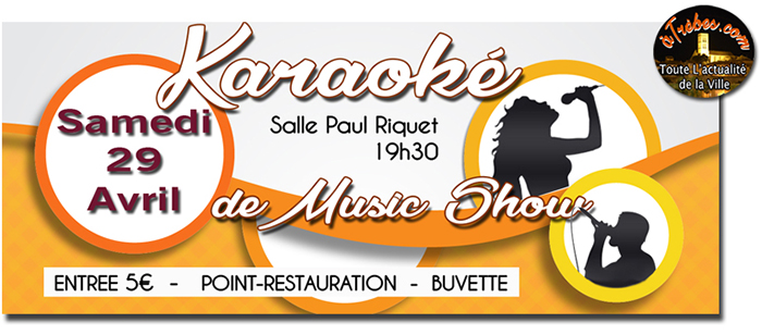 music show karaoké avril 2017 site