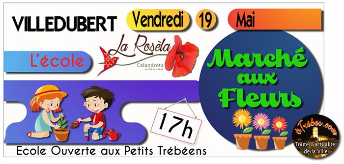 calandreta marché aux fleurs FB2