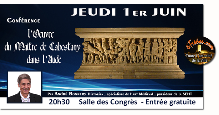 conférence André Bonnery mai2017 Trèbes