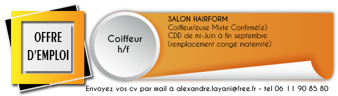 offre emploi hairform
