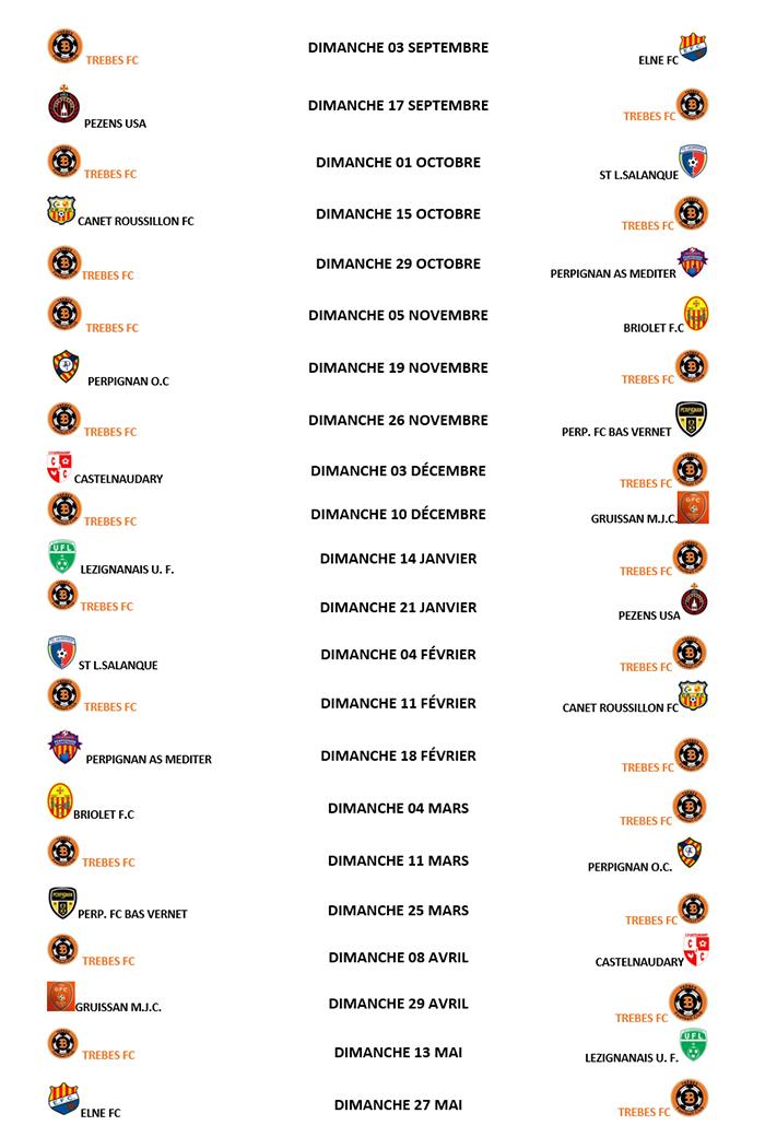 foot tfc calendrier 2017-2018