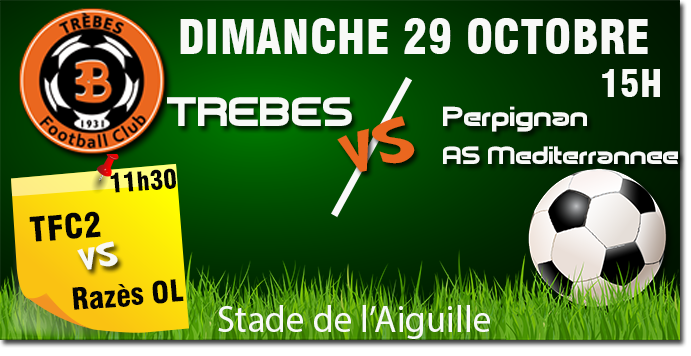 Foot TFC annonce 29oct