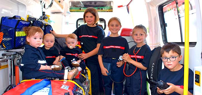pompiers calendrier enfants