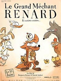 Le grand méchant Renard & autres contes, Affiche