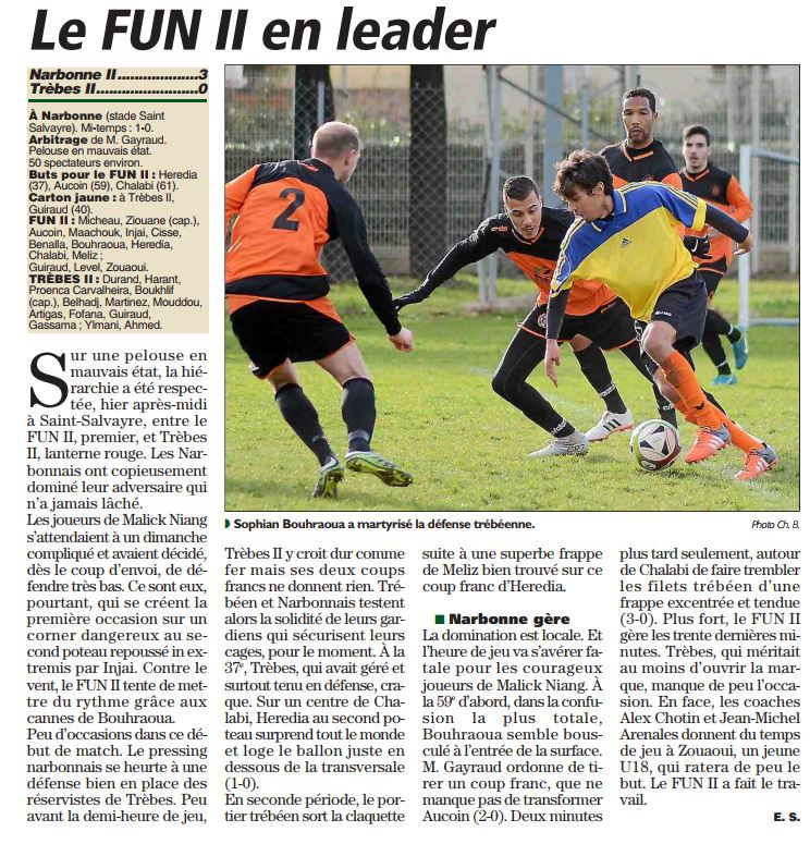 foot 11fev Trèbes 2- fun