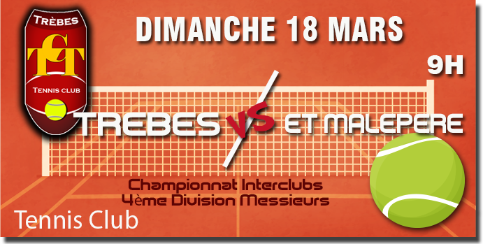 Tennis annonce 18 mars