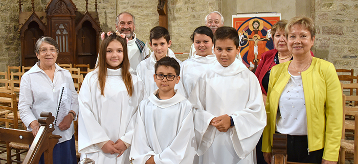 paroisse professions de foi Trèbes