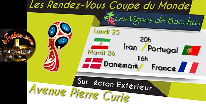 bacchus coupe du monde 2018 Trèbes 25 juin