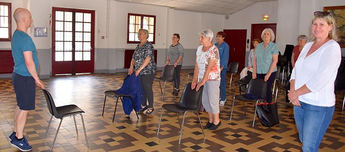 yoga seniors Trèbes