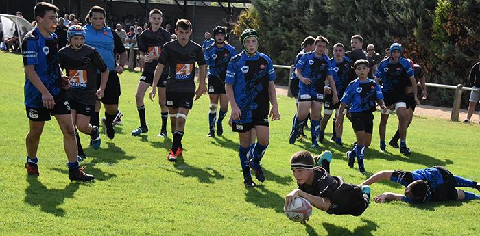 rugby Trèbes  rbc cadet 6oct2018
