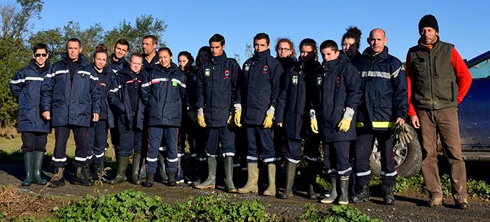 vignerons et pompiers Trèbes 2
