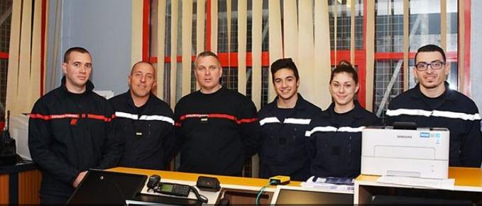pompiers noel 2018