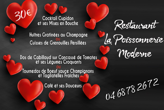 poissonnerie menu st val 2019