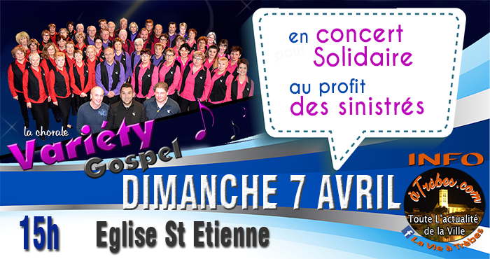 variety FB  concert solidaire avril 2019