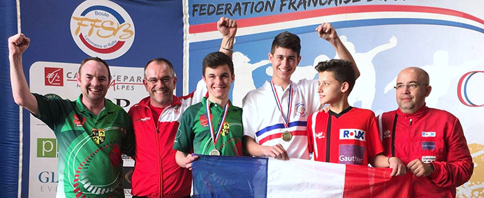 Matthieu Vercher champion de France 2019