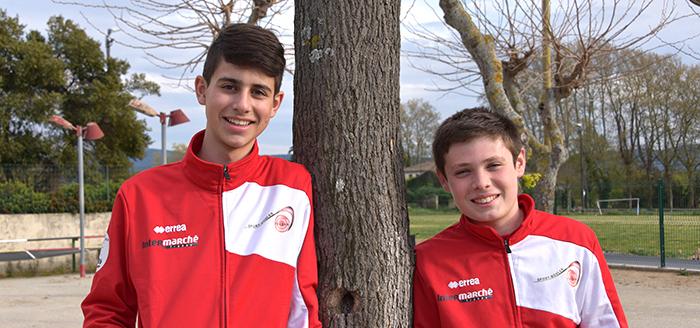 Matthieu et Nicolas Trèbes