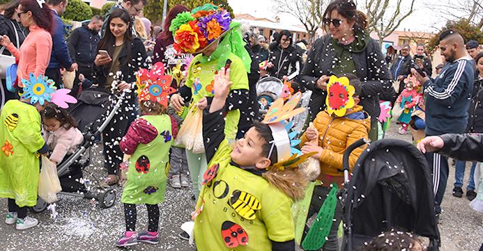 carnaval maternelles Trèbes