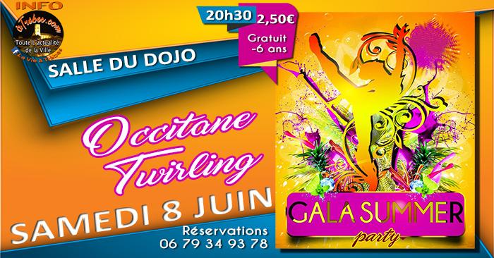 gala occitane twirling juin 2019 Trèbes 2