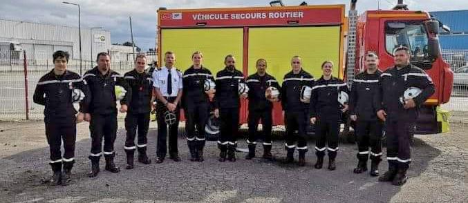 pompiers Trèbes juin 2019