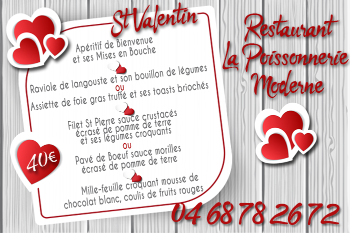 poissonnerie menu st val 2020