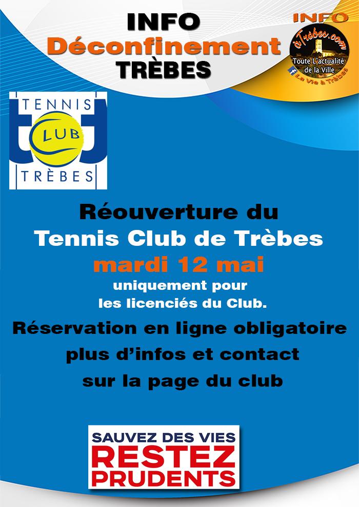 Tennis reprise 12 mai