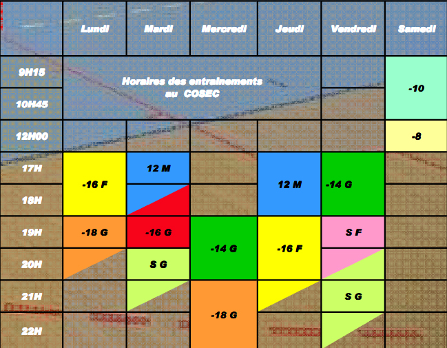 hand-planning Hebdomadaire