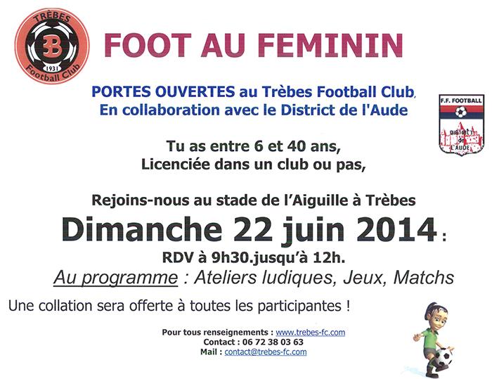 Affiche foot fille juin2014