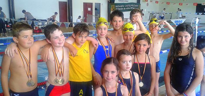 Aqua Club Trèbes Poussins et Avenirs 2014