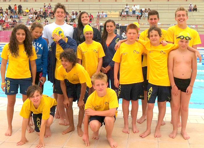 Aqua-Club championnats de l'Aude juin2014