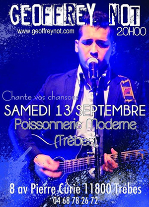 poissonnerie 13 septembre 2014 affiche