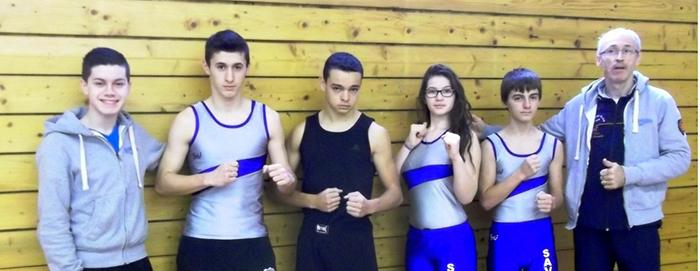 Savate minimes cadets dec2014