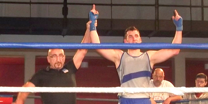 savate Jean Eude Champion  France Junior avril2015