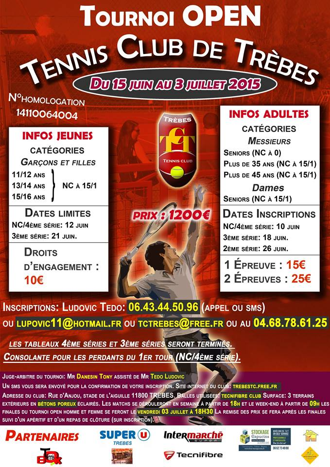 tennis tournoi