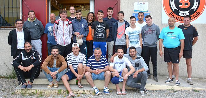 foot U19 repas mai2015-pt