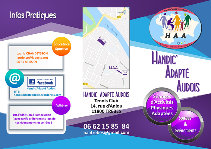 Trèbes Handic adapté Audois 2018