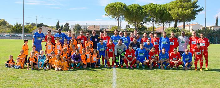 foot TFC Ales Coupe de France sept2015 2